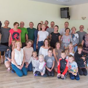 Letni obóz jogi w Gąskach 2018