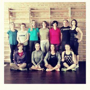 Sobotni trening jogi